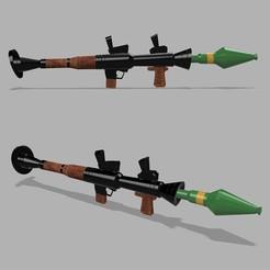 STL Fortnite - Rocket Launcher, idestinia