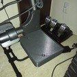 3D print model Playseat Challenge Logitech shifter mount, loSvelto