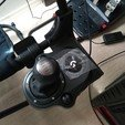 3D print model Playseat Challenge Logitech shifter mount, loSvelto