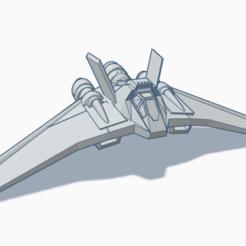 Descargar diseños 3D gratis Aviones Stargate Naves F-302, BCpro