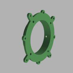 2.png Télécharger fichier STL gratuit Passe cloison support ventilateur caisson • Modèle à imprimer en 3D, V1nve