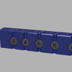 img.png Download free STL file Drill tap block M3 -> M8 • Object to 3D print, V1nve