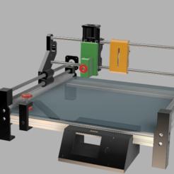 graveuse.png Télécharger fichier STL gratuit Chassis graveuse laser / cnc / traceur  - Laser / cnc engraver frame • Plan à imprimer en 3D, V1nve