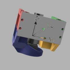 ensemble complet.png Download free STL file Cooling of anycubic i3 mega printhead - Cooling event • 3D printer model, V1nve