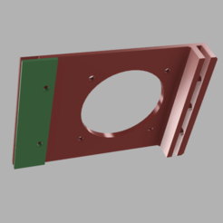 partie 1 et 2.png Download free STL file D.60 fan bracket for anycubic i3 mega power supply • Template to 3D print, V1nve