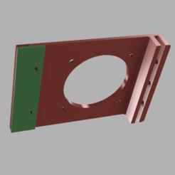 partie 1 et 2.png Télécharger fichier STL gratuit Support de ventilateur D.60 pour alimentation d'anycubic i3 mega • Plan à imprimer en 3D, V1nve