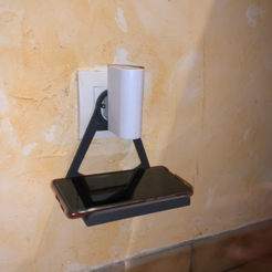 Download free 3D printing models Wall telephone holder, liondordesbois