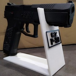 Download free STL file Support for airsoft replica • Model to 3D print, liondordesbois