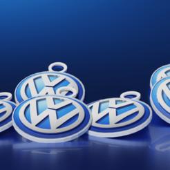 source.png Télécharger fichier STL porte clés voiture Volkswagen • Design à imprimer en 3D, theo24000