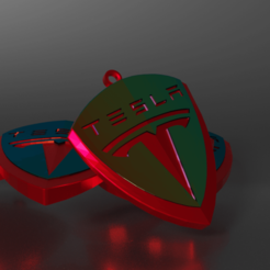 source.png Télécharger fichier STL porte clés voiture tesla • Objet à imprimer en 3D, theo24000