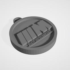 Free STL bmw motorsport logo key ring, theo24000