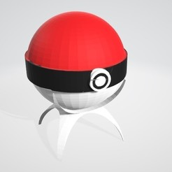 Download 3D model pokeball piggy bank, theo24000
