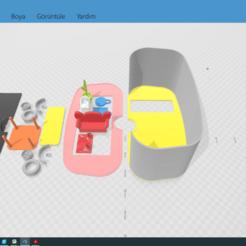 caravan5.png Download STL file TOY CARAVAN • 3D printing template, izzettlm