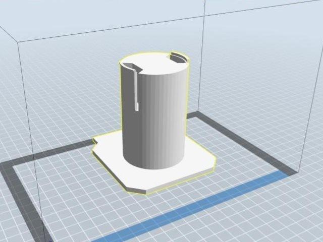 spool.jpg Télécharger fichier STL gratuit PORTE FILAMENT SPOOL HOLDER pour Flashforge Creator Pro Imprimante 3D • Plan imprimable en 3D, laynefoote
