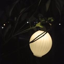 notte.jpg Download free 3MF file Light diffuser for solar LEDs IKEA (SOLVINDEN old series) • Object to 3D print, DavideL