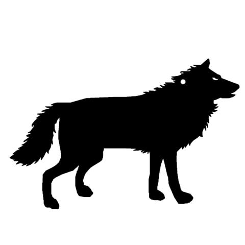 Download free 3D print files Wolf Key Chain, ronnybarcelona