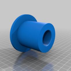 body26mmID.png Télécharger fichier OBJ gratuit Olympic to Standard adapter for barbells dumbbells weight plates 1in 26mm ID • Modèle imprimable en 3D, DarkMavrik