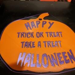 IMG_20200922_192509.jpg Download free STL file Happy Halloween Sign • 3D printer design, DarkMavrik
