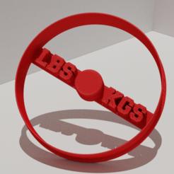 weightplate.png Download free STL file Gym Weightplate Barbell Cookie Cutter • Model to 3D print, DarkMavrik
