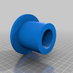 body30mmID.png Télécharger fichier OBJ gratuit Olympic to Standard adapter for barbells dumbbells weight plates 1.15in 30mm ID • Modèle pour imprimante 3D, DarkMavrik