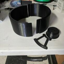 IMG_20201211_133229.jpg Télécharger fichier STL Plaques d'haltères en béton et ciment KG • Modèle pour imprimante 3D, DarkMavrik