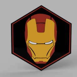 Download free 3D printing files Ironman Plate, 3Dimpact