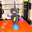 Download free 3D printing files Toy Robot, 3Dimpact