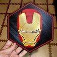 Télécharger fichier impression 3D gratuit Plaque d'Ironman, 3Dimpact
