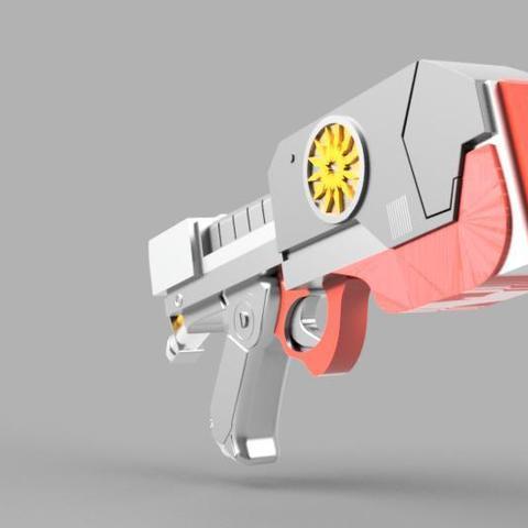 ColorRender2.jpg Télécharger fichier STL gratuit Element Gun Gun Star-Lord • Design imprimable en 3D, 3Dimpact