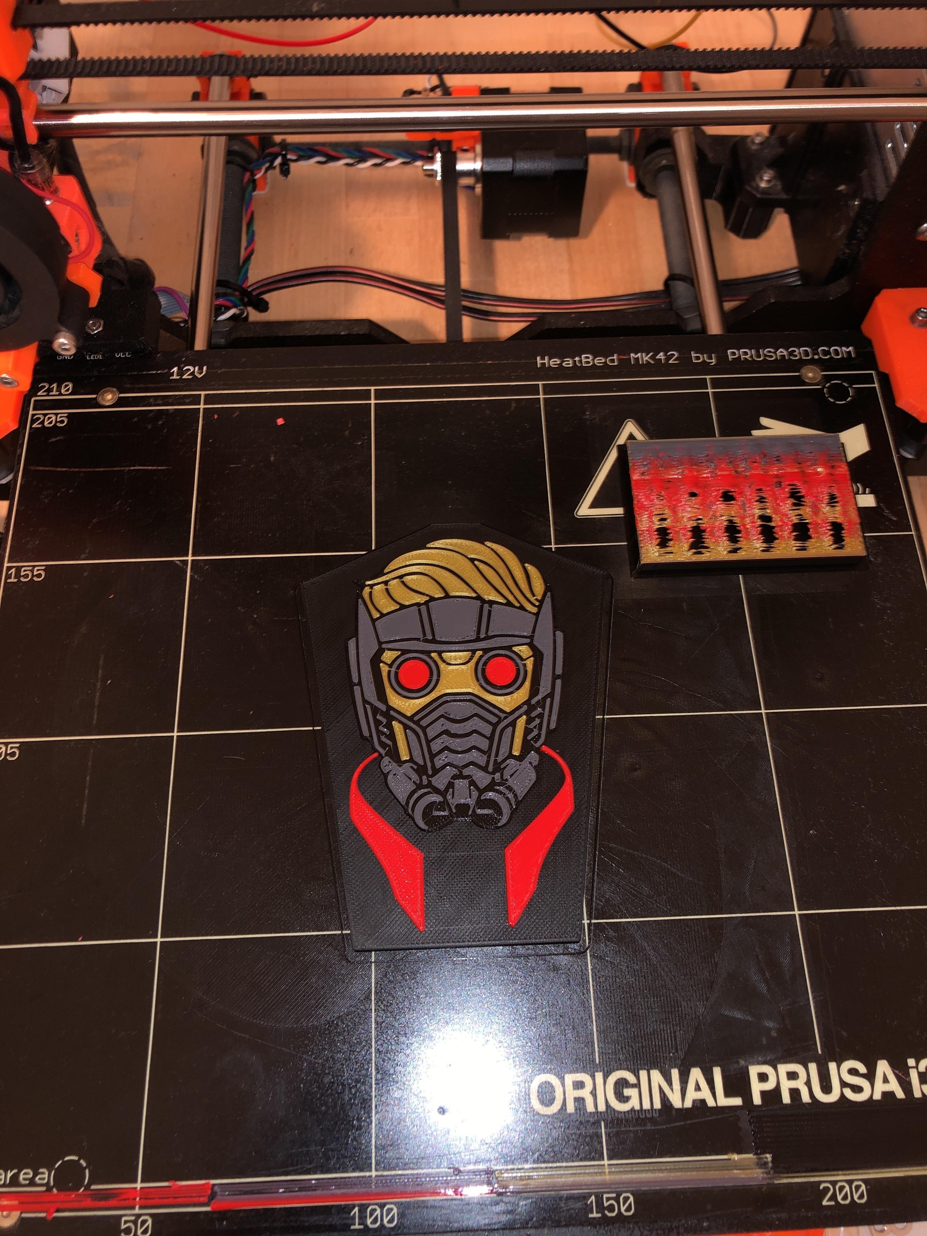 19163797-5935-4DB9-8A6B-0B2C689DF5D6.jpeg Download free STL file Star-Lord Badge • 3D print object, 3Dimpact