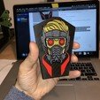 Download free 3D printer templates Star-Lord Badge, 3Dimpact