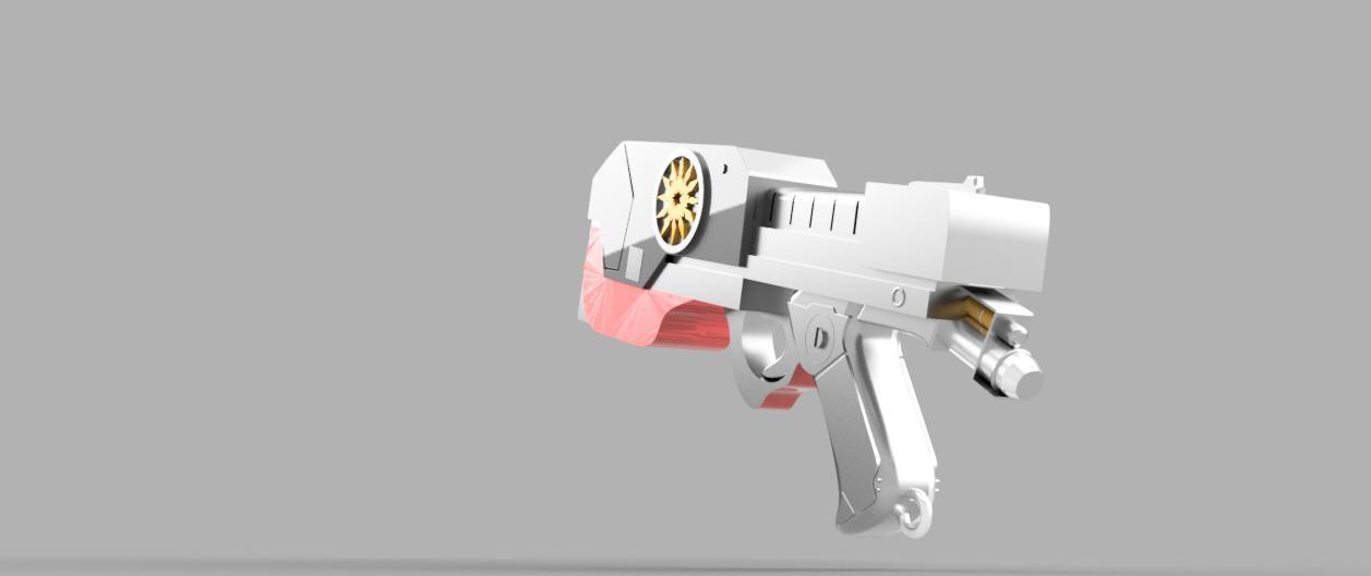 ColorRender3.jpg Télécharger fichier STL gratuit Element Gun Gun Star-Lord • Design imprimable en 3D, 3Dimpact