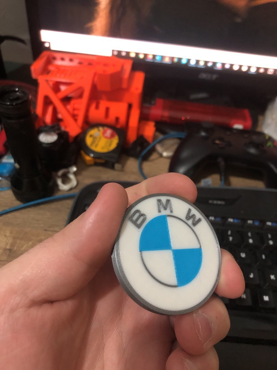 photo5888752668418093849.jpg Download free STL file BMW LOGO 2020 Multi Material • 3D printing object, 3Dimpact