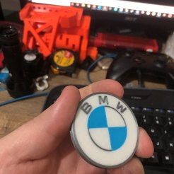 Download free 3D printing designs BMW LOGO 2020 Multi Material, 3Dimpact