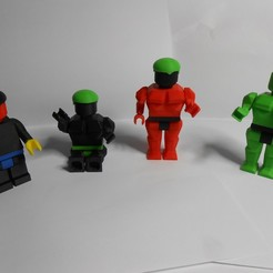 Download free 3D printer files LEGO-HULK, SMARTSOLID