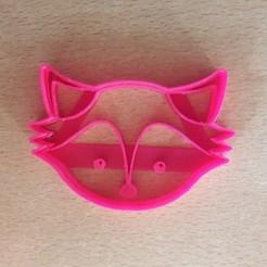Download STL FOX CUTTER COOKIES - FOX CUTTER COOKIES, avmbue