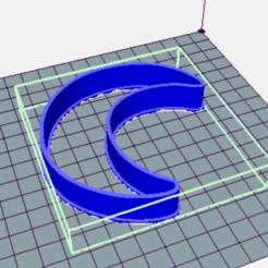 Download 3D printer designs Luna Cortante Galleta - Lune cookies cutter, avmbue