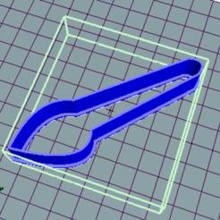 Archivos 3D Pincel cortador galletas - brush cookies cutter, avmbue