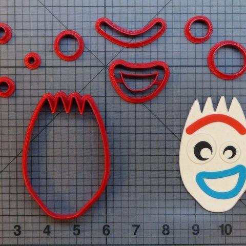 Impresiones 3D Forky Cookie Cutter Cortador de galleta, Cookiecutters13