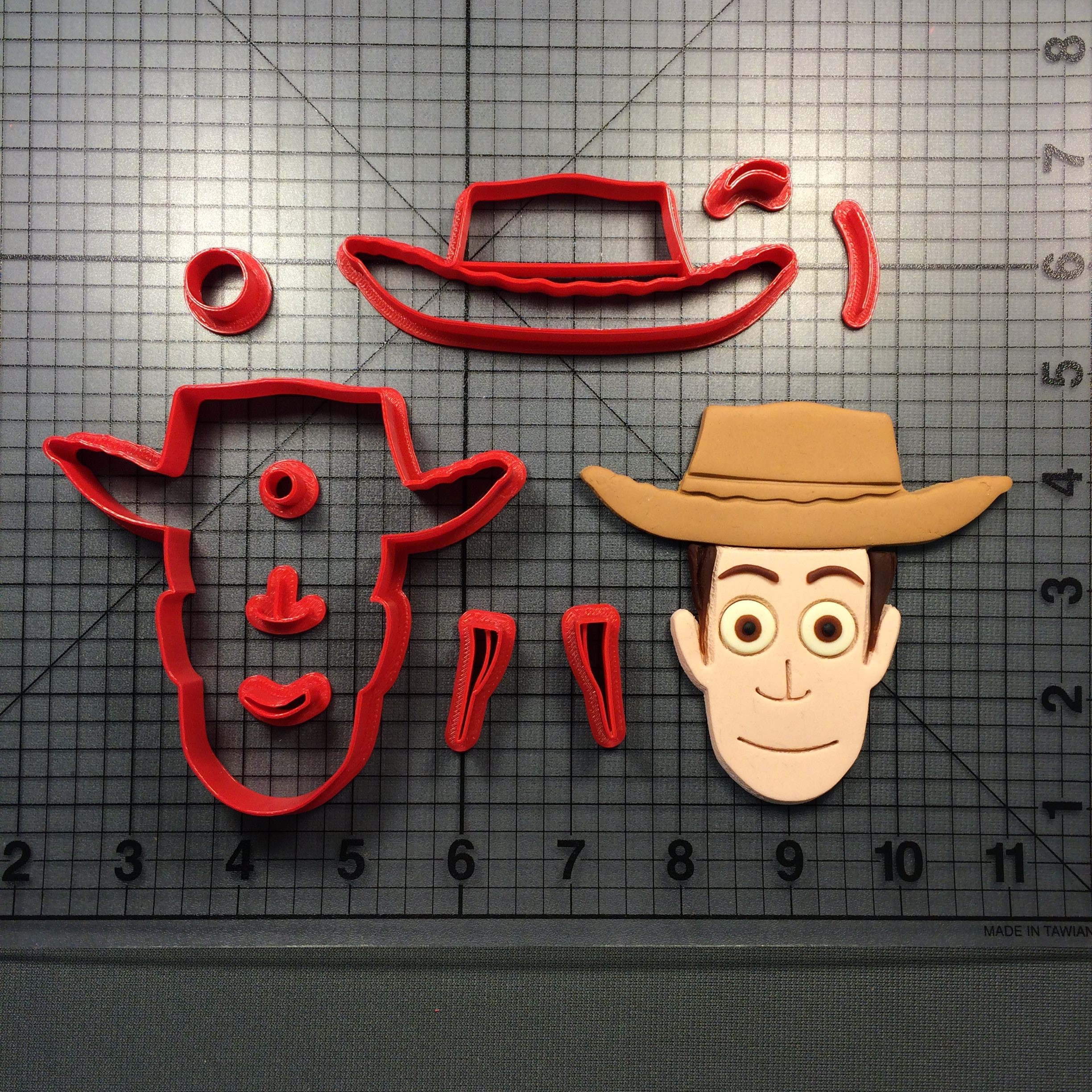 Download 3D printer model Cookie Cutter Woody toy story ・ Cults