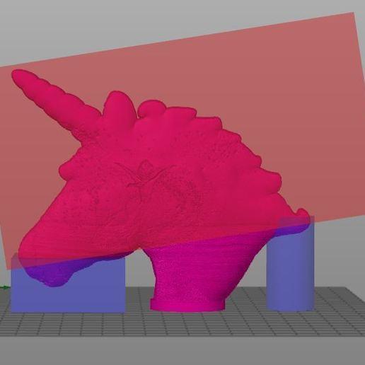 licorne support.JPG Télécharger fichier STL Lampe lithophane licorne / reine des neiges (Frozen) • Design pour imprimante 3D, BD3d