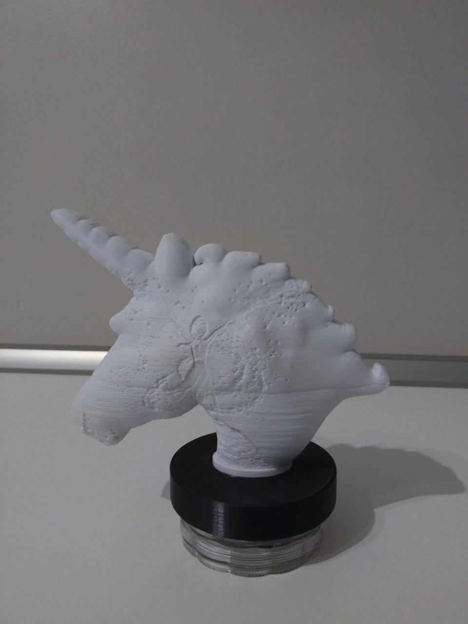 thumbnail_P_20200620_201914_vHDR_On.jpg Télécharger fichier STL Lampe lithophane licorne / reine des neiges (Frozen) • Design pour imprimante 3D, BD3d