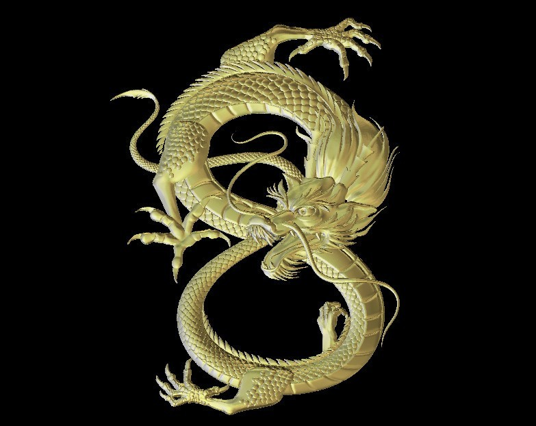 31.jpg Download free STL file Chinese dragon art • Design to 3D print, 3Dprintablefile