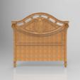 Télécharger STL gratuit Décoration tête de lit art renaissance, 3Dprintablefile