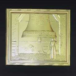 Download free STL Ringing a bell art, 3Dprintablefile