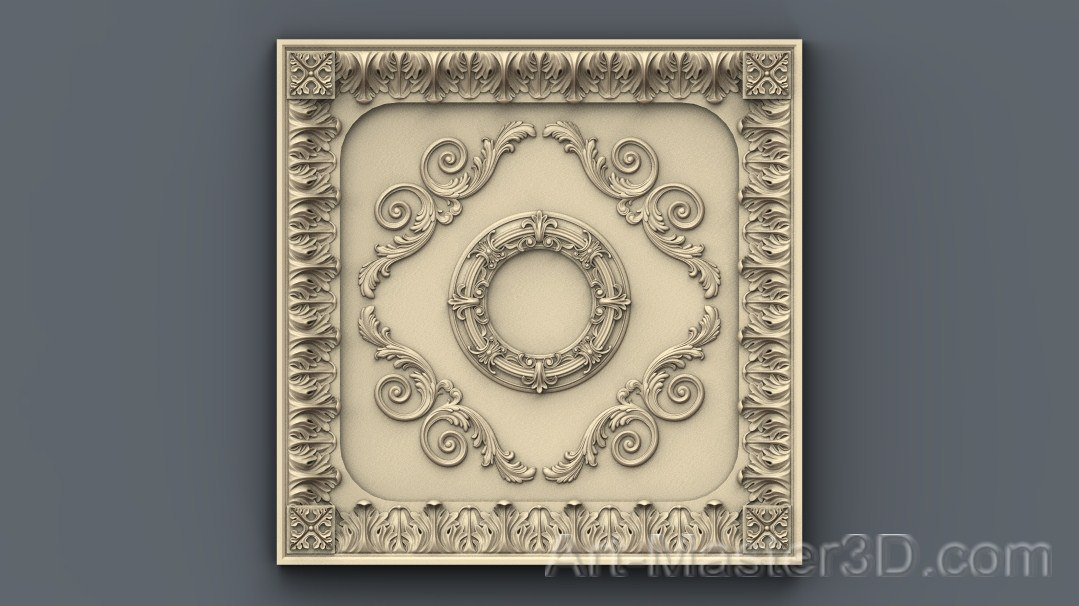Decor_083.jpg Download free STL file Moulding decoration ceiling wall wall house apartment cnc 3D printing • 3D print model, 3Dprintablefile