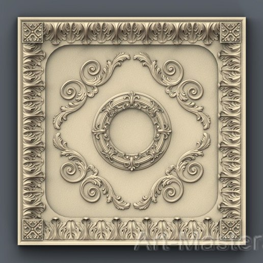 Download free 3D print files Moulding decoration ceiling wall wall house apartment cnc 3D printing, 3Dprintablefile