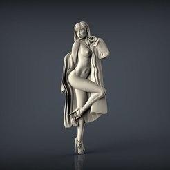 Descargar archivo 3D gratis mujer desnuda, 3Dprintablefile