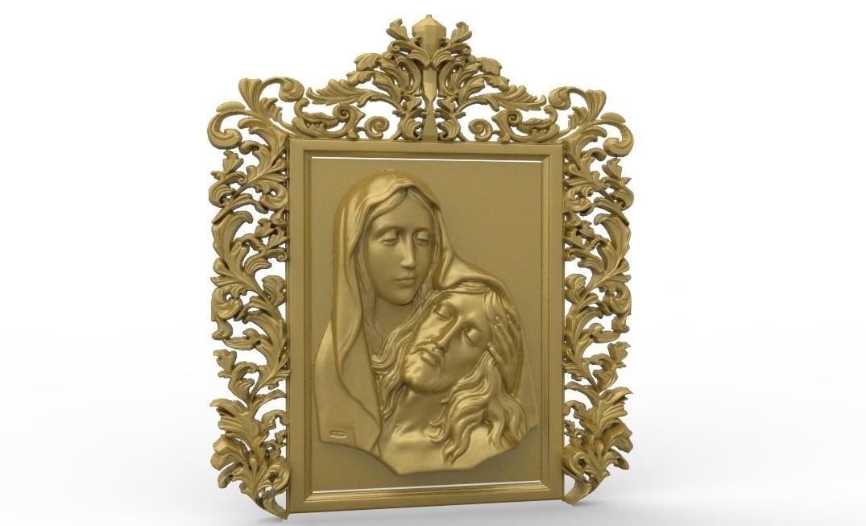 untitled.21.jpg Télécharger fichier STL gratuit Épousez et jésus mort religieux • Objet pour impression 3D, 3Dprintablefile