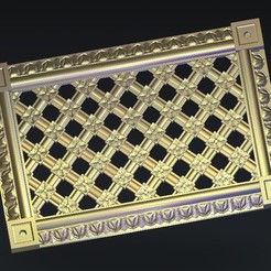 Descargar archivos 3D gratis decoración renacentista, 3Dprintablefile